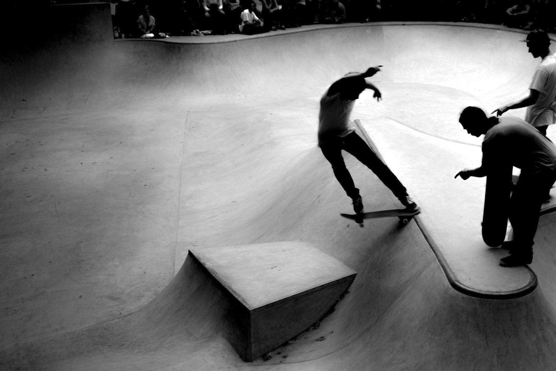 Details des Skateparks Sk8te Island, Entwurf der Arbeitsgruppe Architekten